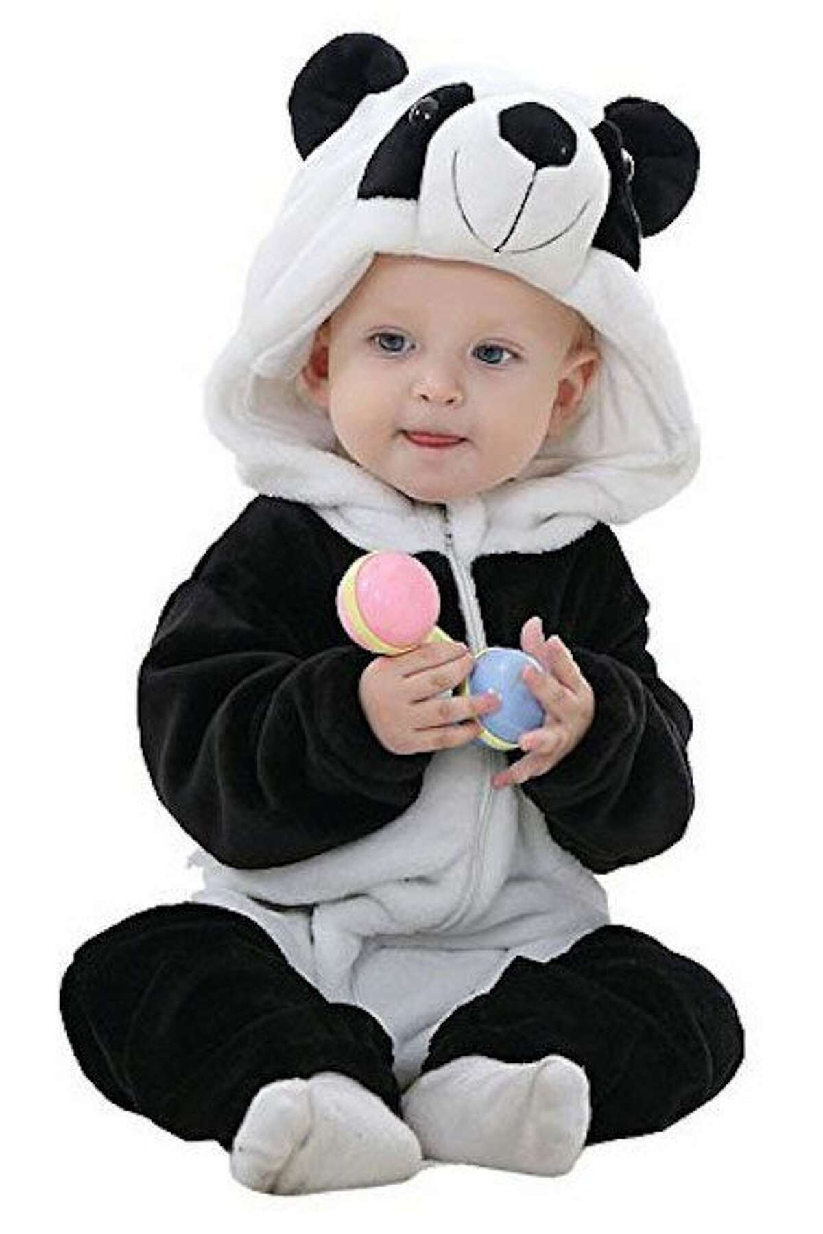 Baby Panda Costume: $16.69 Shop Now Because everyone looks good in black and white.