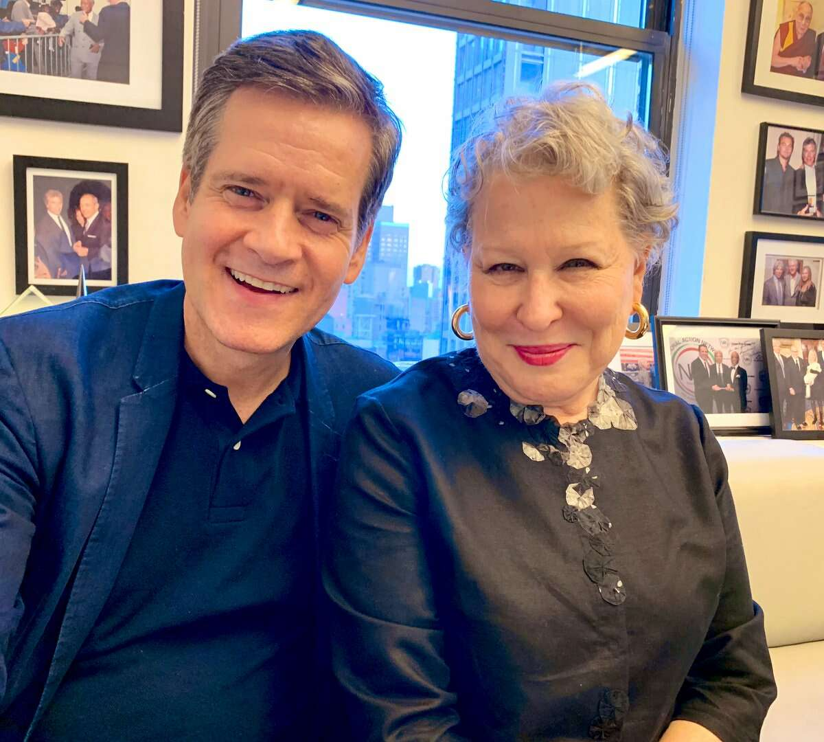 State Sen. Brad Hoylman, D-Manhattan, met with actress Bette Midler in October as she studied to play the chief of staff for a New York State senator in Netflix's