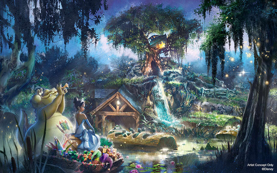 "Splash Mountain is set to be completely redone to strip away its connection to ""Song of the South."" The new theme will be ""The Princess and the Frog."" Photo: Disney Parks"