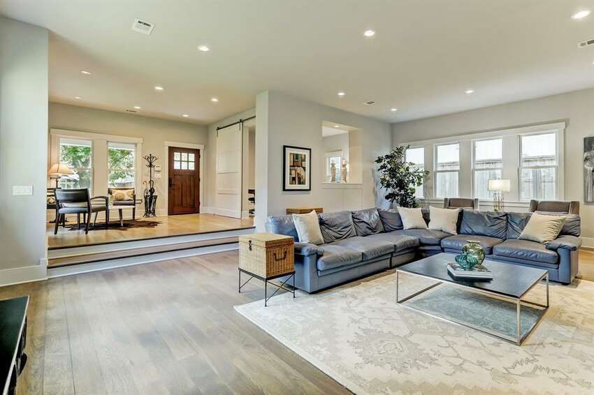 1817 Cortlandt Street Listing Price: $1,679,900 The contemporary fireplace connects the expansive main living space to the kitchen area. The first-floor study is perfect for working remotely. For more information on this listing, click here.