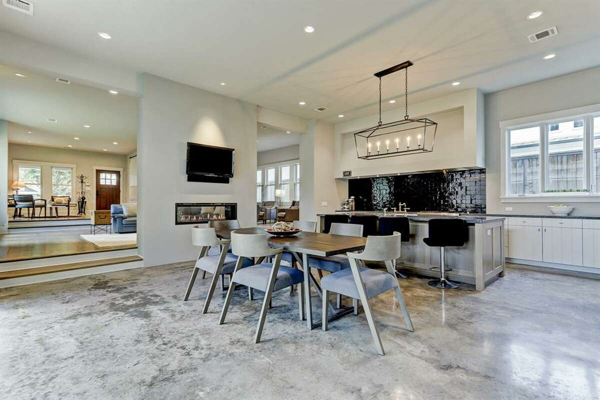 1817 Cortlandt Street Listing Price: $1,679,900 Inside is a huge island kitchen which includes a Thermador 6 burner cooktop and oven, a sleek integrated French door fridge, a large pantry and wine fridge. For more information on this listing, click here.
