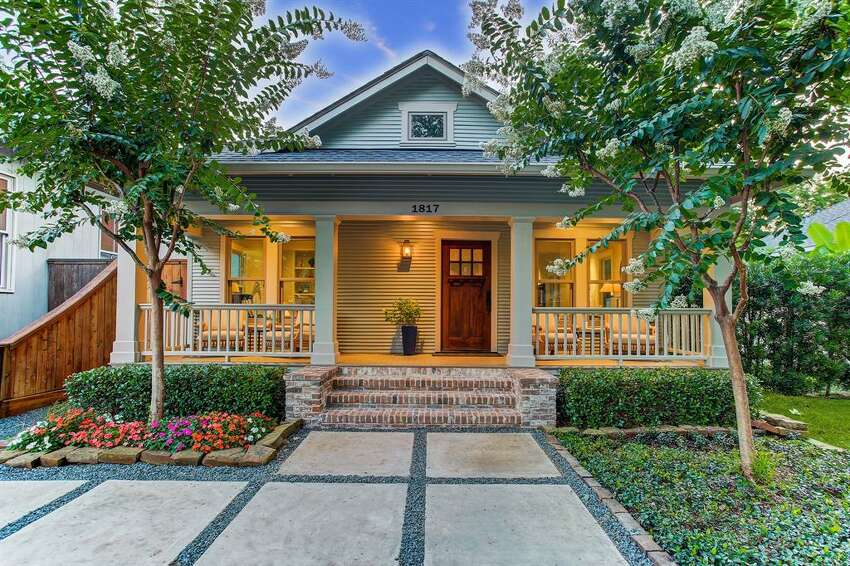 1817 Cortlandt Street Listing Price: $1,679,900 This beautiful Houston Heights bungalow balances traditional design and modern features. Its perfectly located near Marmion Park, the Heights Blvd. jogging trail and 19th street. The property is 4,082 square feet, with 4 beds and 4.5. baths. For more information on this listing, click here.