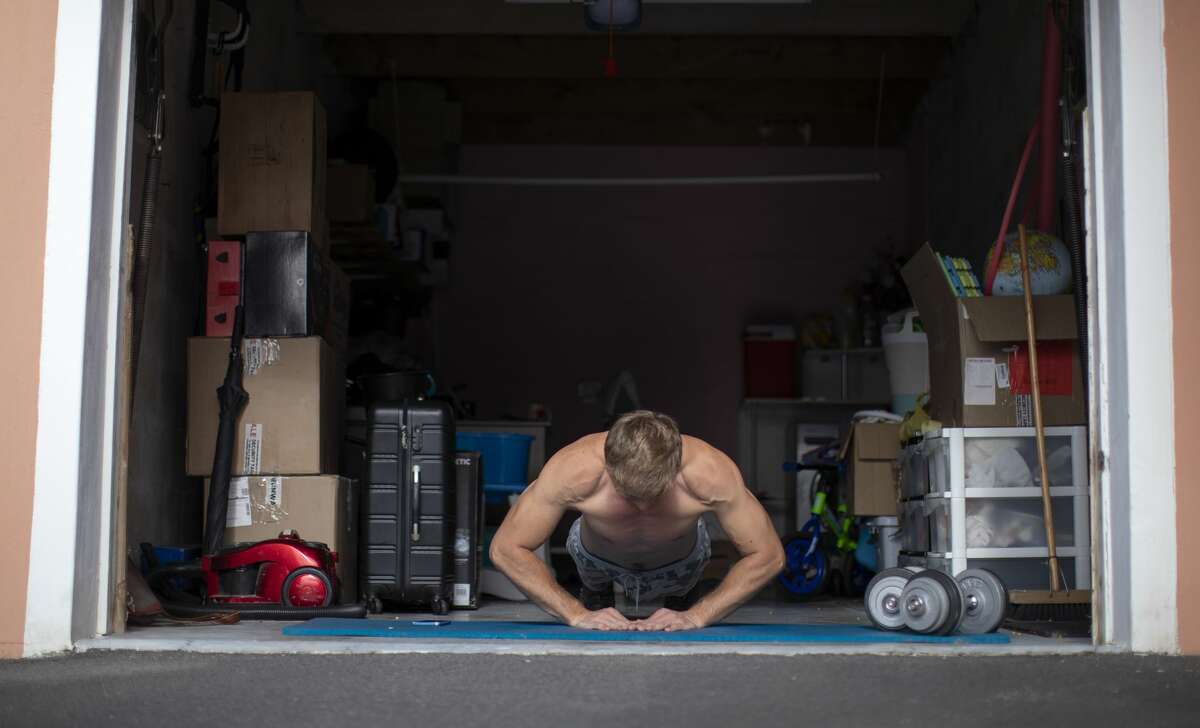 Diamond pushup: While the standard pushup hits your pecs, this variety allows you to work your triceps to a much greater degree. Make sure to include this movement in your routine to concentrate on the arm portion of your push muscles. If you go through the full range of motion - lowering your chest to the floor and then rising up on those arms - you will feel the burn.