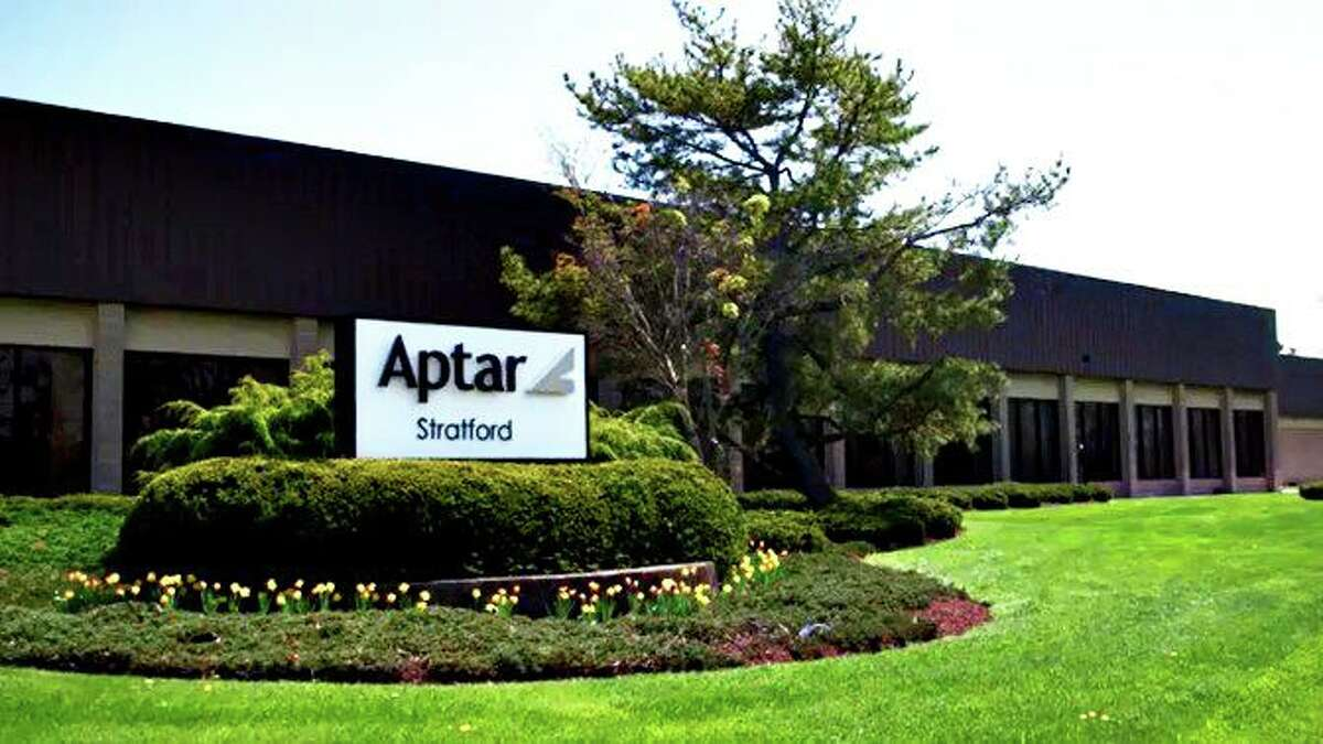 AptarGroup's Stratford, Conn. facility at 125 Access Road, which the company plans to close at a cost of 100 jobs along with a separate plant in Torrington. (Press photo via Aptar)