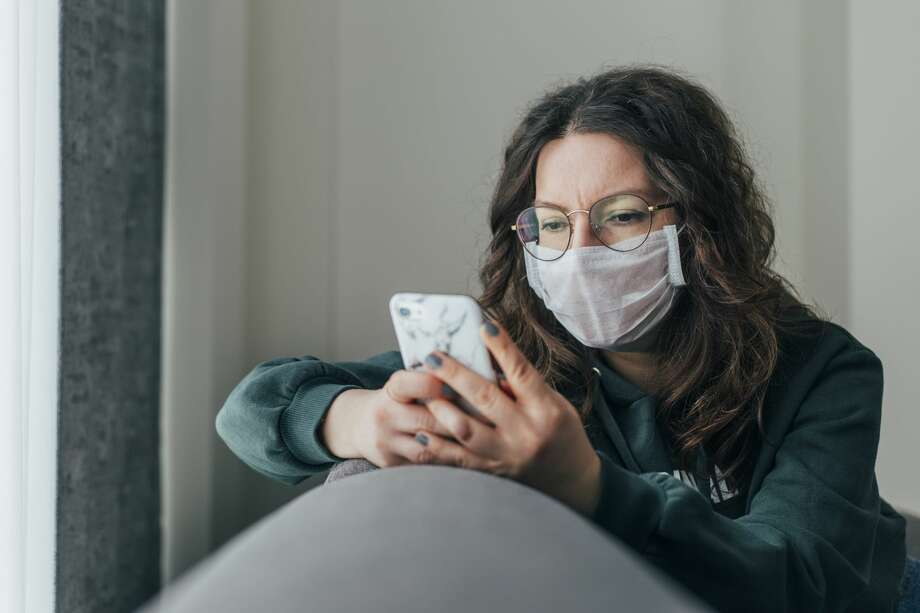 Surgical masks should be reserved for health care workers due to ongoing shortages. They are designed for single use but can be worn again if decontaminated. Photo: Hsyncoban/Getty Images