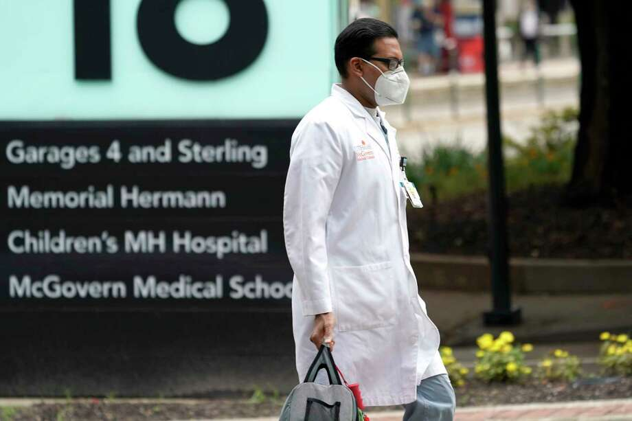 The leaders of several Houston hospitals said they were opening new beds to accommodate an expected influx of patients with COVID-19, as coronavirus cases surge in the city and across the South. Photo: David J. Phillip, AP / Copyright 2020 The Associated Press. All rights reserved.