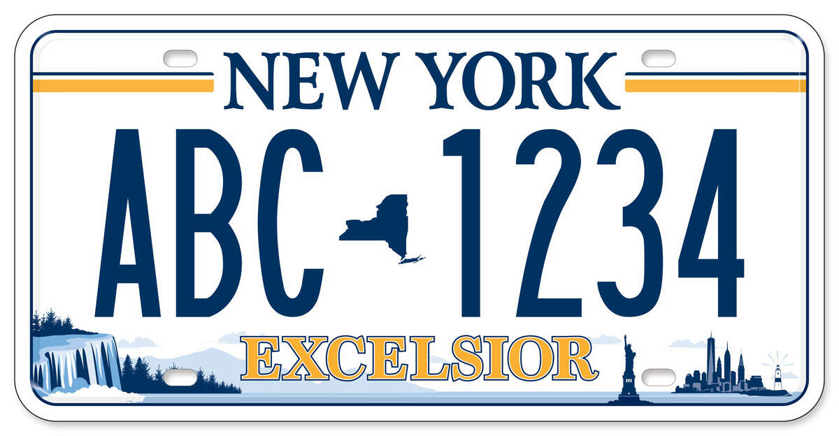 State motor vehicle offices have begun issuing newly designed license plates.