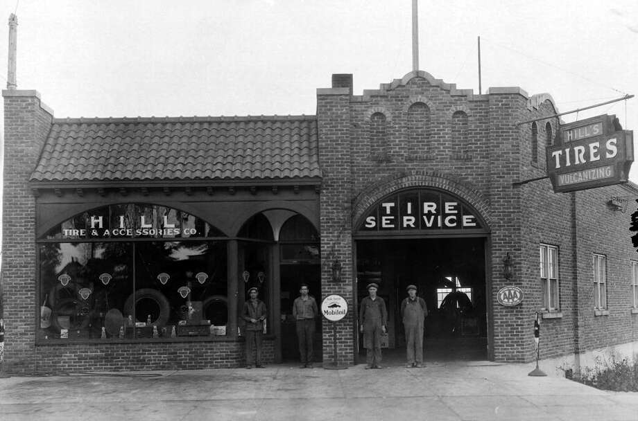 The building located at 308 River St. (Hokanson Camera) was constructed in 1926 for the purpose of a tire shop.