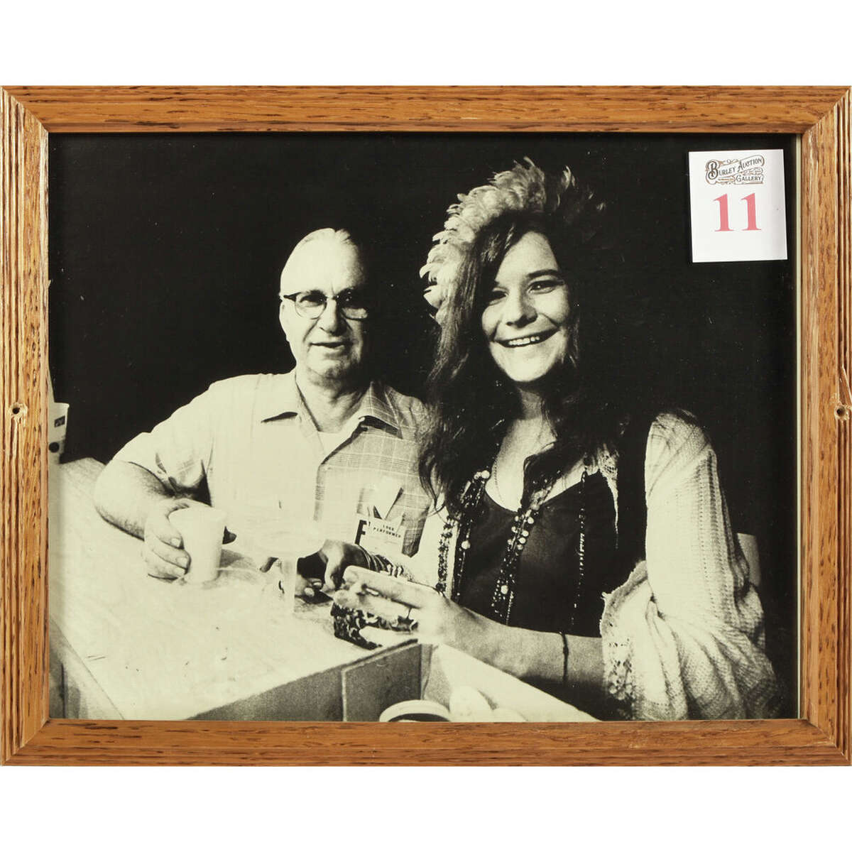 Janis Joplin & Kenneth Threadgill Photograph.
