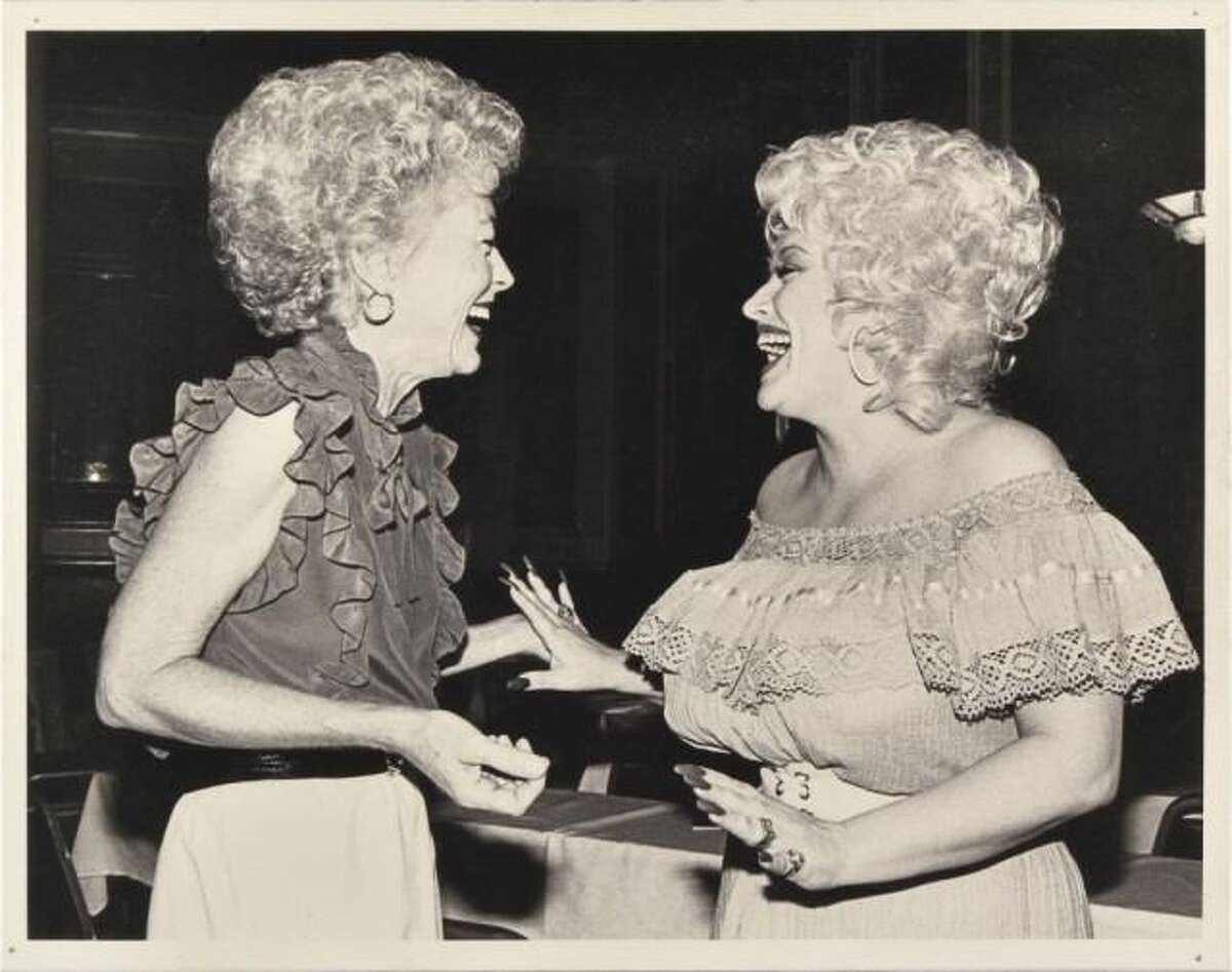 Ann Richards and Dolly Parton Photo On Canvas.