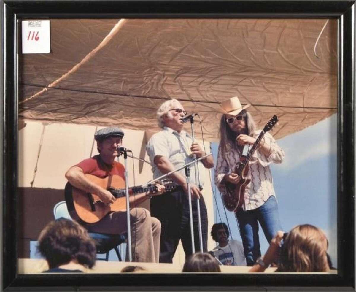 Willie Nelson, Threadgill, Leon Russell Photograph.