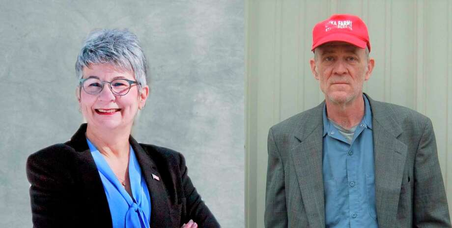 Beth McGill-Rizer, of Ludington, and Cary Urka, of Brethren, are vying for the Democratic spot for the 101st District House of Representatives in the Aug. 4 primary. (Courtesy photos)