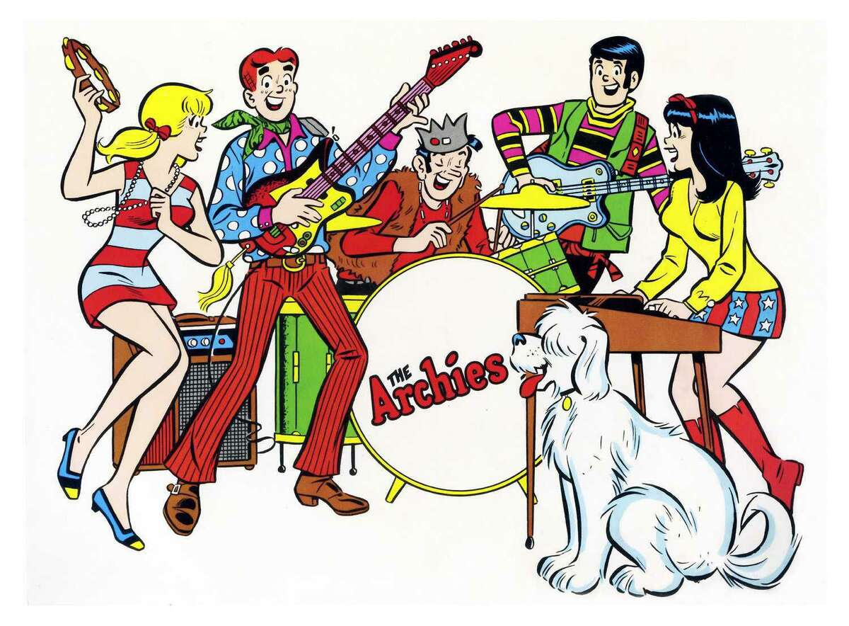 """Image of the Archies cartoon, the basis for the 1960s pop band of the same name. Musician Ronald Frangipane played keyboards on the band's No. 1 single, """"Sugar, Sugar."""""""