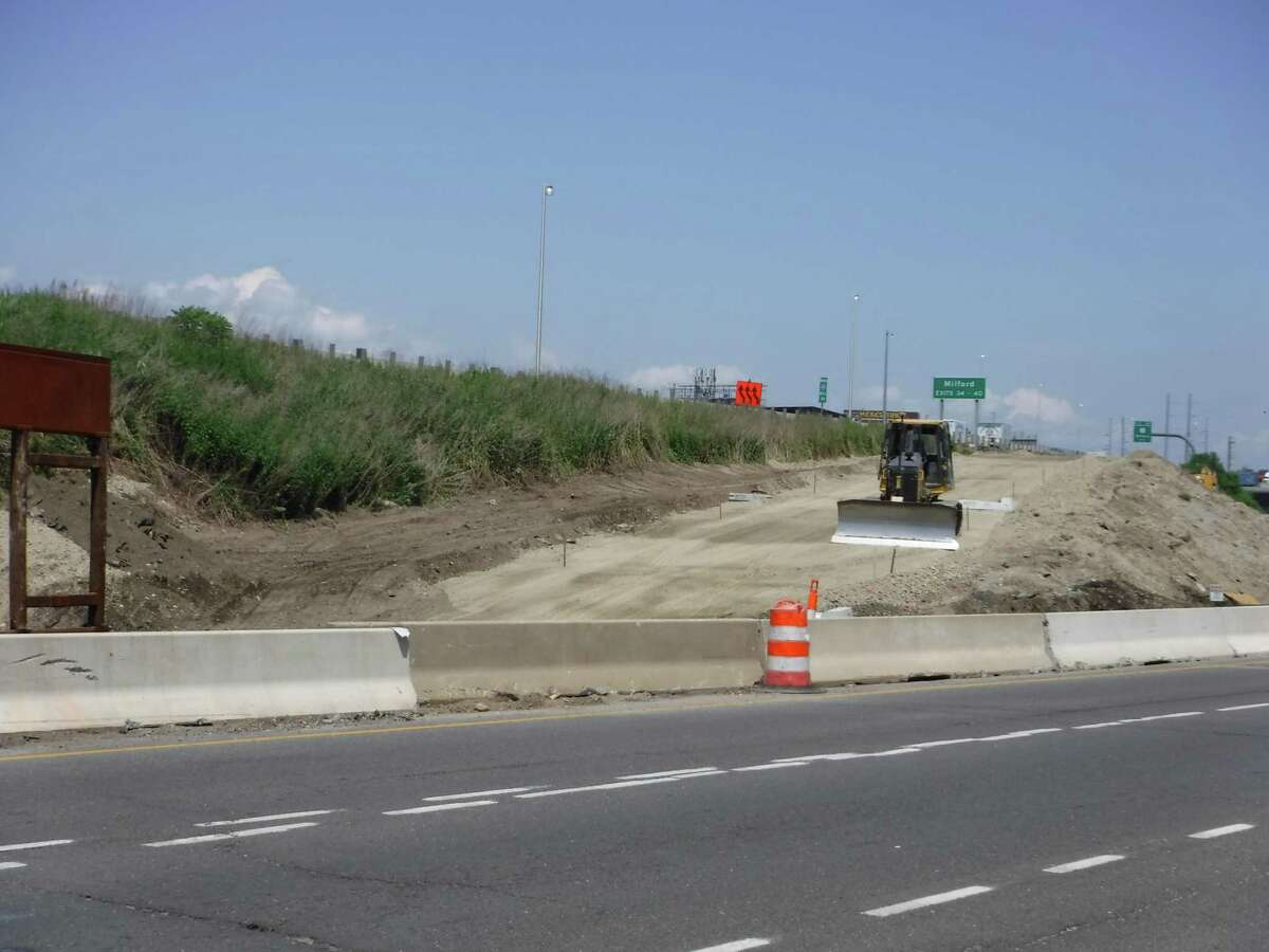 A new on ramp will put drivers on I-95 north as part of the reimagined and rebuilt Exit 33 interchange.