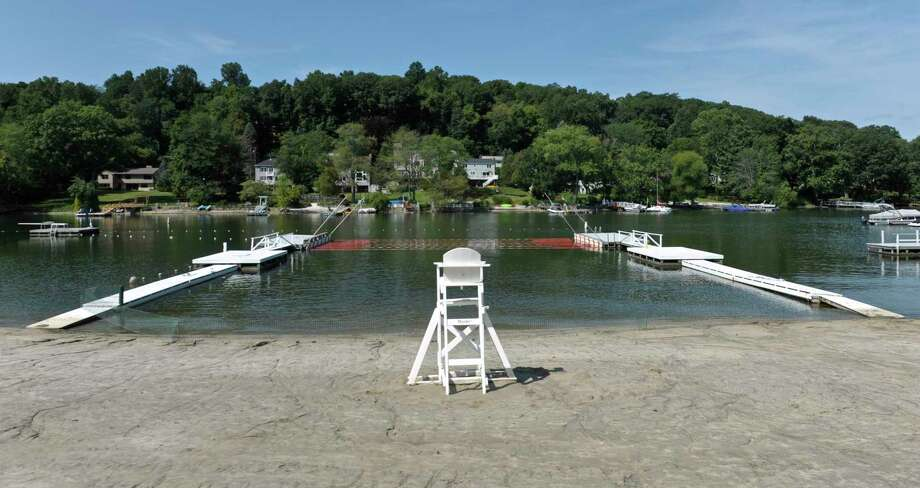File photo of Brookfield Town Park beach. Saturday, August 29, 2015, in Brookfield, Conn. Photo: H John Voorhees III / Hearst Connecticut Media / The News-Times
