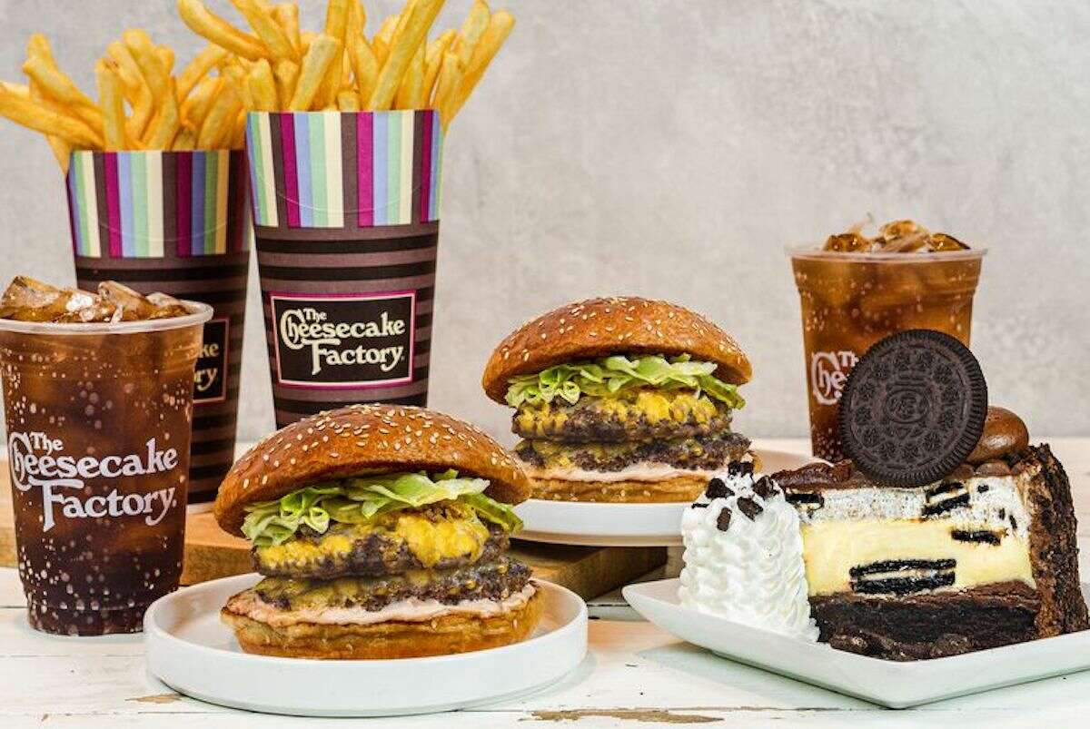 Get seven items for $20 from The Cheesecake Factory