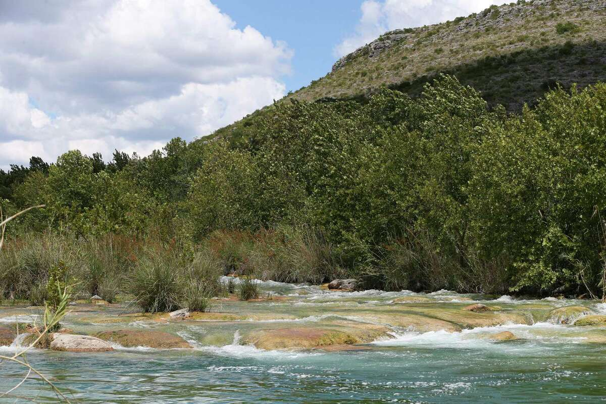 The Devils River runs through the Indian Creek Rapids.