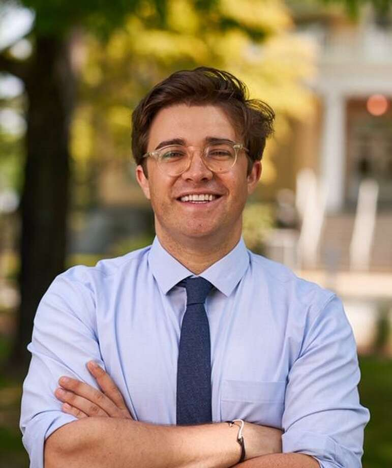 John-Michael Parker is the Democratic-endorsed candidate for state representative in the 101st House District. Photo: Contributed Photo / Connecticut Post Contributed