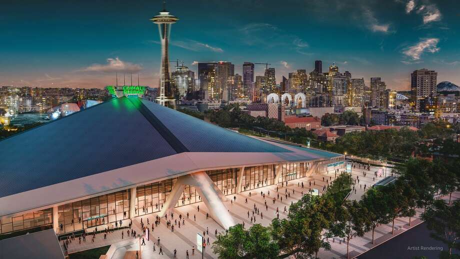 Climate Pledge Arena, Seattle, Washington. Photo: Amazon