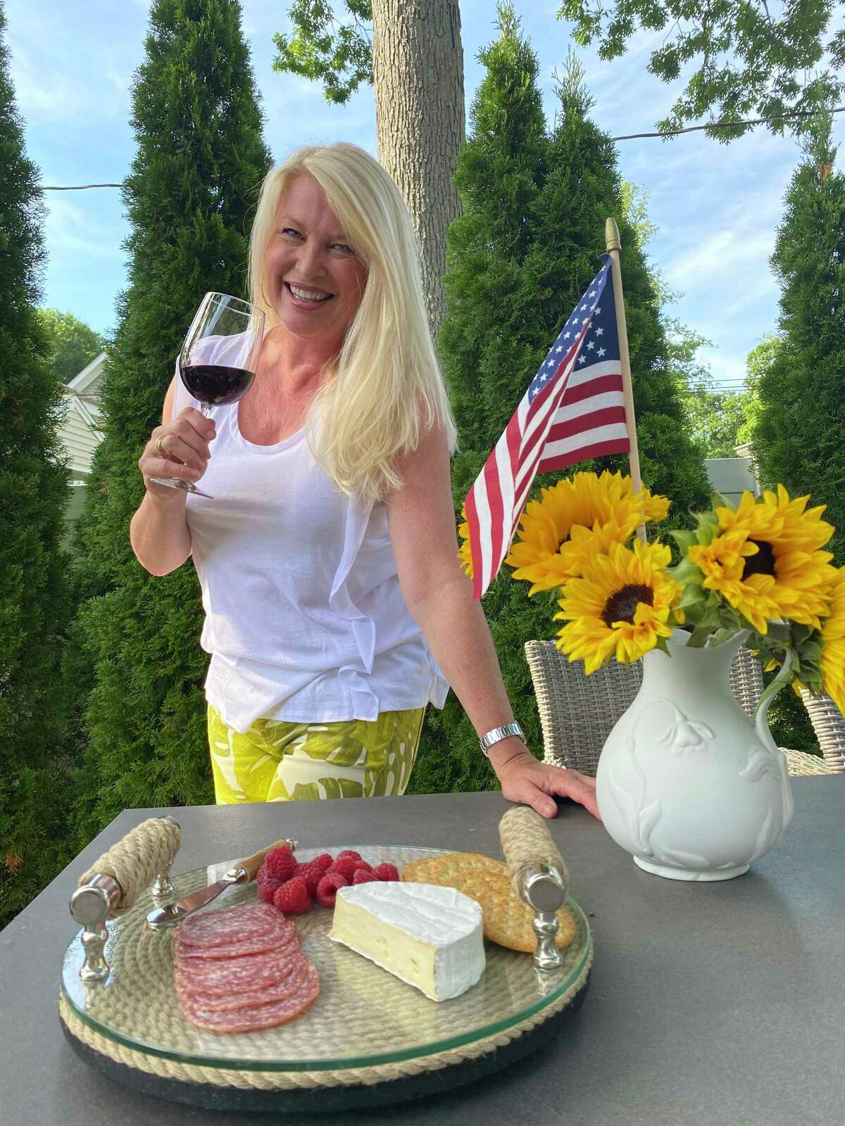 """Fairfield resident Sandra Guibord, founder of Sandra's Wine Life, is an expert with two decades of experience in the industry. She understands why some people find it daunting to navigate wine stores, shares great ideas for summer entertaining, and says """"if a wine is super expensive, it better well be terrific!"""""""