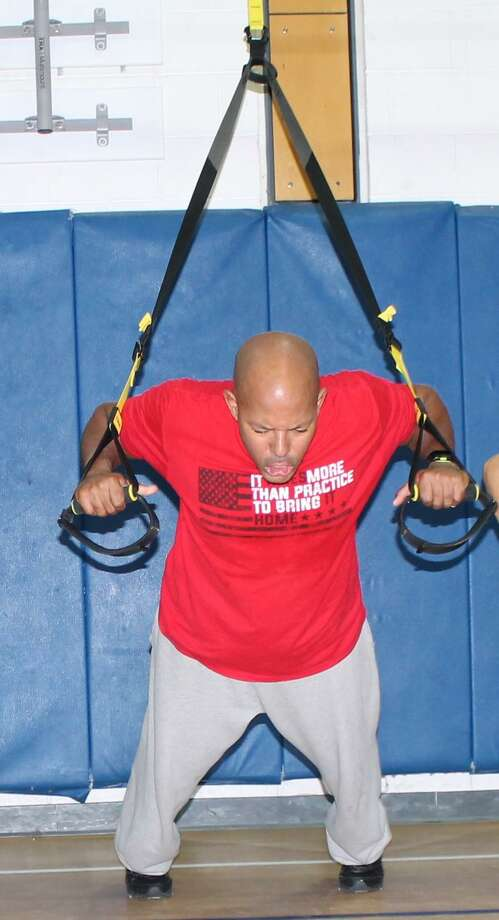TRX fitness classes are offered at the Recreation Center. Photo: Ridgefield Parks & Recreation