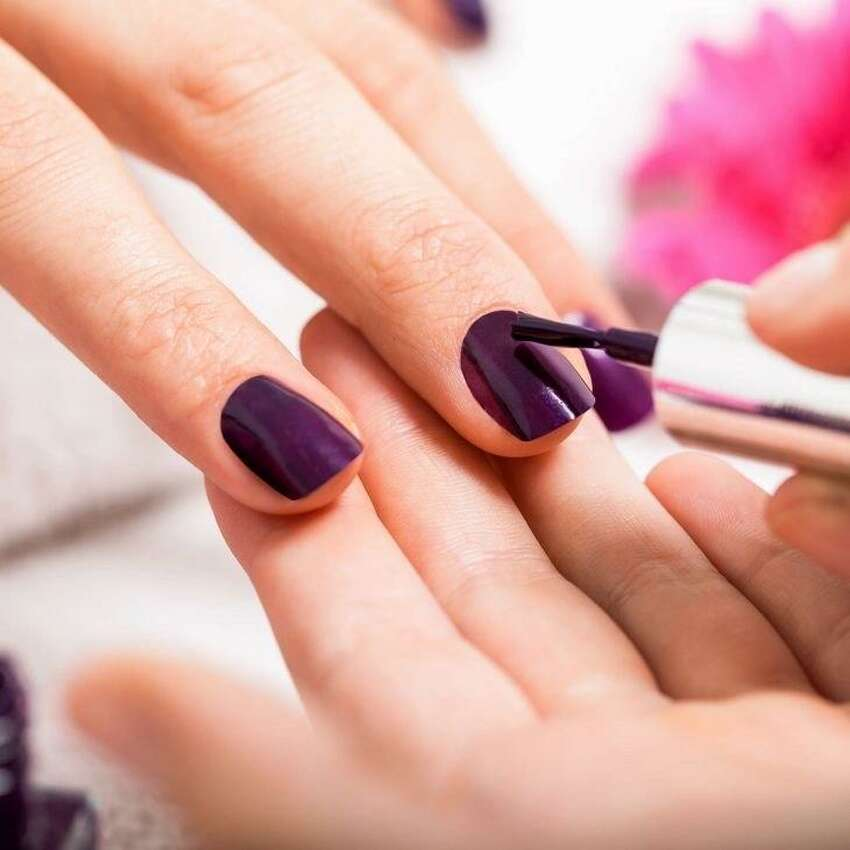 Additional minimums or travel fees may apply if outside the nail salon's 15-mile radius. Costs range between $42 for a classic manicure and around $55 for a pedicure. Packages that include both are also available.