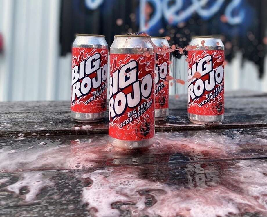 """Islla Street Brewing came up with a new beer, aptly named """"Big Rojo,"""" which has actual Big Red syrup in the recipe. The first batch was released to a limited group, but word of the Big Red-flavored beer got out and pushed the brewing company to move forward with a public sale on July 22. Photo: Courtesy, Islla Street Brewing"""