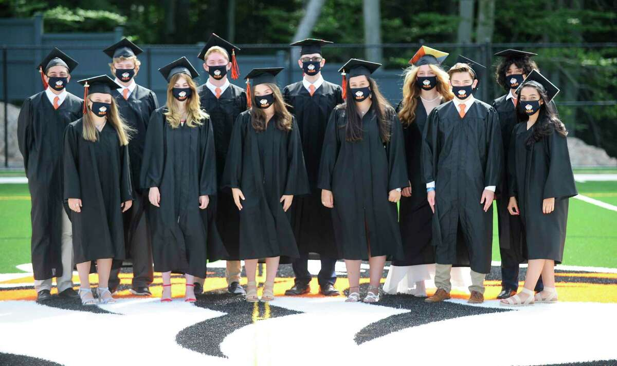 Greenwich Country Day School celebrates its first graduating class of 12 seniors on Thursday, after becoming a high school in 2019-2020 following its merger with The Stanwich School in Greenwich.