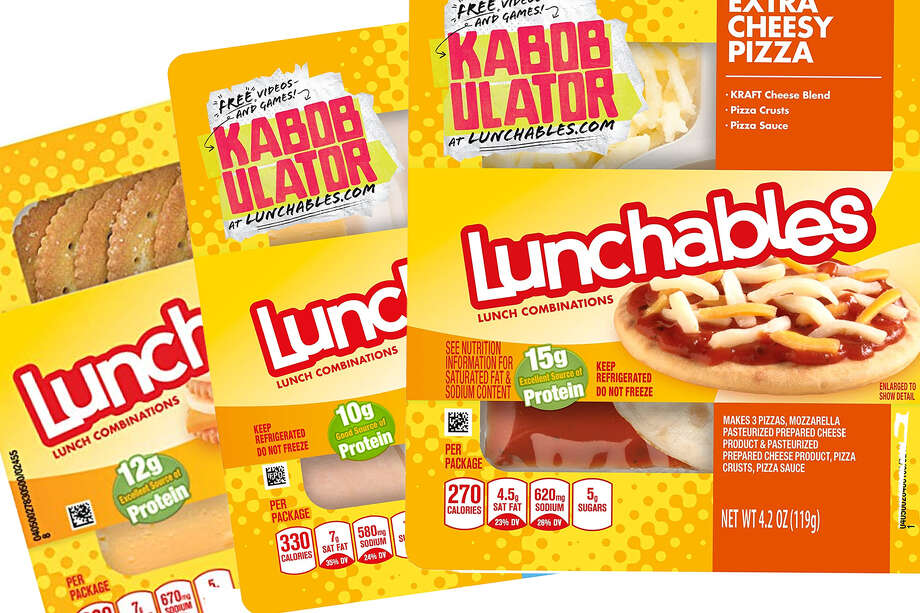 Lunchables Photo: Oscar Mayer