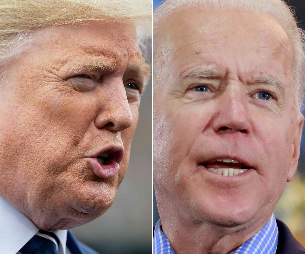 Biden vs. Trump on the issues Likely voters are split 48-48 percent when asked whether Biden or Trump would do a better job handling the economy. Asked about handling four other key issues, Biden holds a clear lead: On handling racial inequality, Biden would do a better job 58-36 percent, according to the poll. On handling the response to the coronavirus, Biden would do a better job 56-40 percent, the poll found. On handling health care, Biden would do a better job 55-41 percent, according to the poll. On handling a crisis, Biden would do a better job 53-43 percent, the poll indicated.