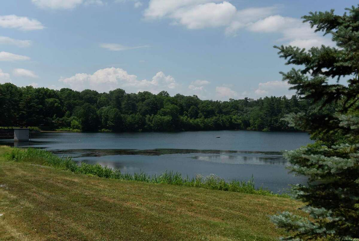 Putnam Reservoir in Greenwich, Conn., photographed on Tuesday, June 23, 2020.
