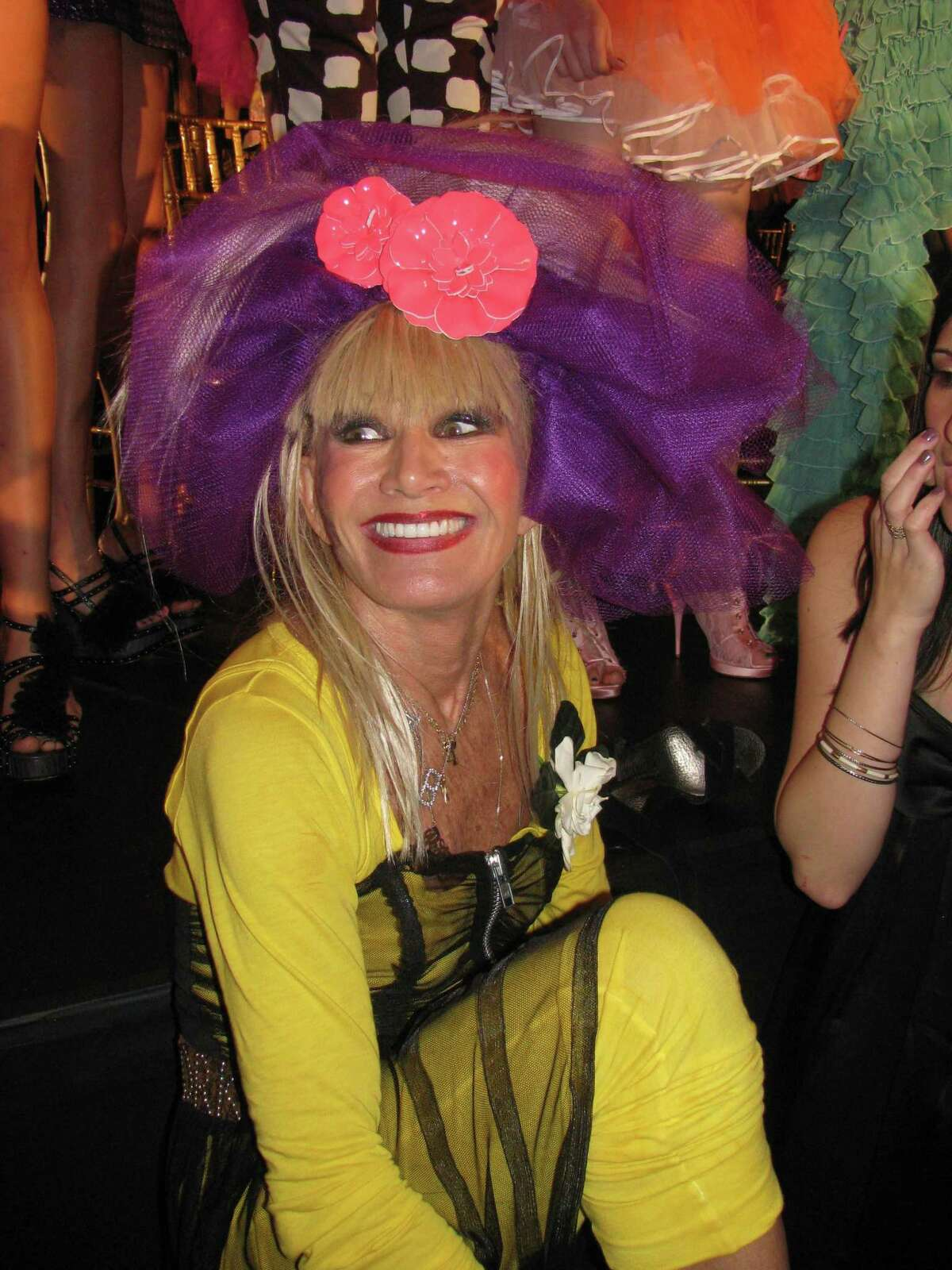 Fashion designer Betsey Johnson brought fun - and cupcakes - to her runway show at Bryant Park.