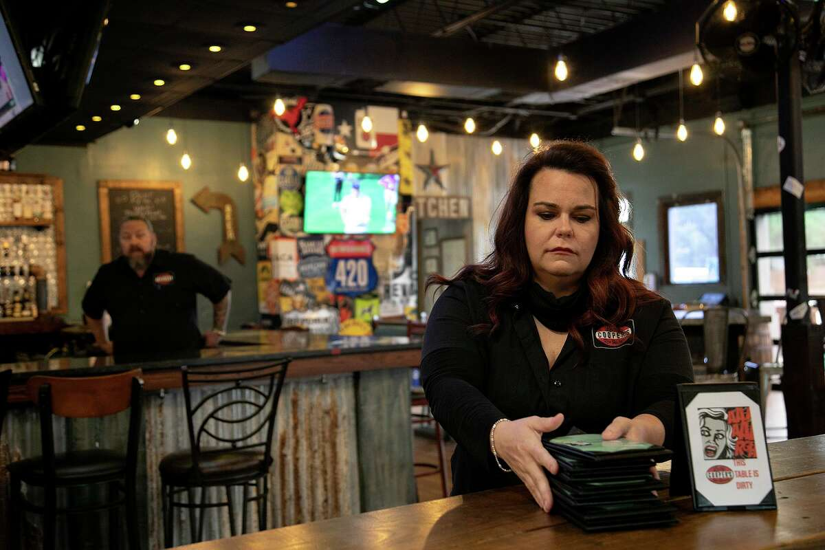 """Braunda Smith (pictured), who owns Lucy Cooper's Texas Ice House, called it a """"slap in the face."""" """"This has got to be the most tone deaf thing the city of San Antonio could have done right now,"""" she said. """"The news of a very expensive fundraiser comes just four days after our mayor went on TV pleading for restaurants, bar owners, event venues and patrons to 'carefully consider the risk among the pandemic' in regards to opening any further."""" She challenged Nirenberg to a week-long challenge of not mentioning """"bars"""" or """"restaurants"""" in the same sentence with the pandemic. """"We are losing everything while other sectors off business thrive,"""" she said."""