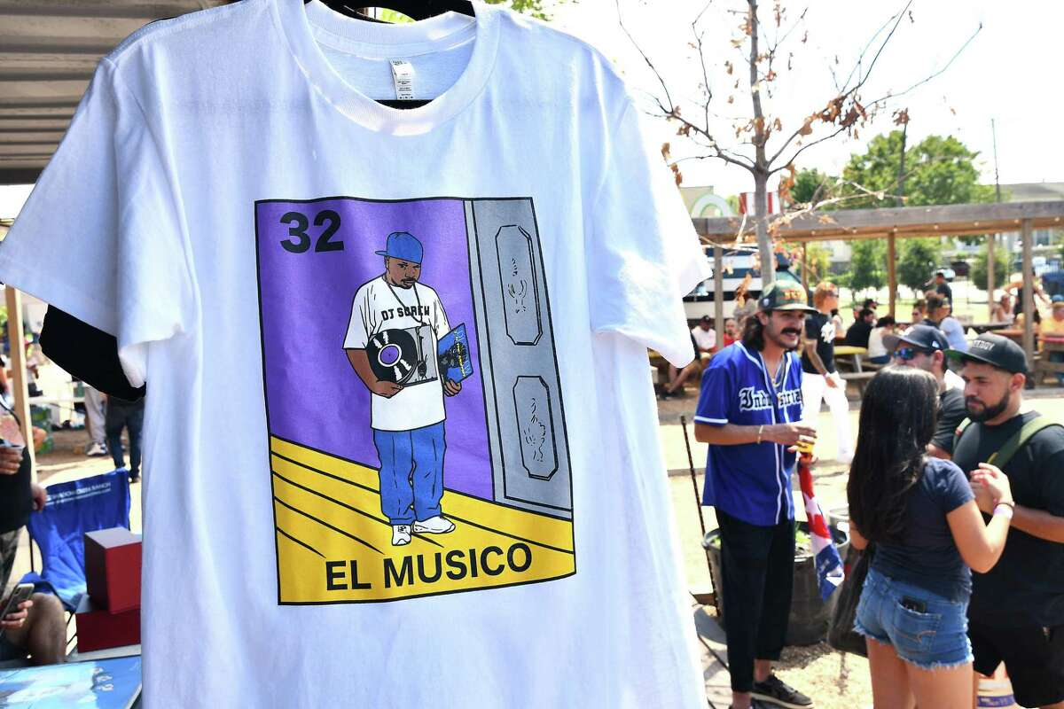 Fans gather at the 5th Annual Screwed Up Sunday party to commemorate the late, great DJ Screw at the 8th Wonder Brewery Sunday Sept. 08,2019.(Dave Rossman Photo)