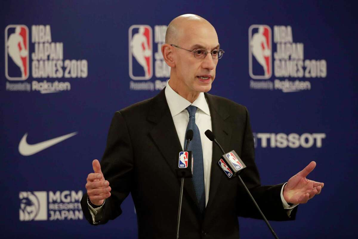 NBA commissioner Adam Silver said the league understands that it will be dealing with COVID-19 for the forseeable future.