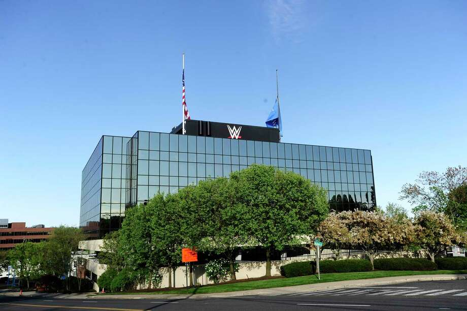 Stamford-based WWE is contributing $900,000 to pediatric cancer research grants supported by the V Foundation for Cancer Research. Photo: Matthew Brown / Hearst Connecticut Media / Stamford Advocate