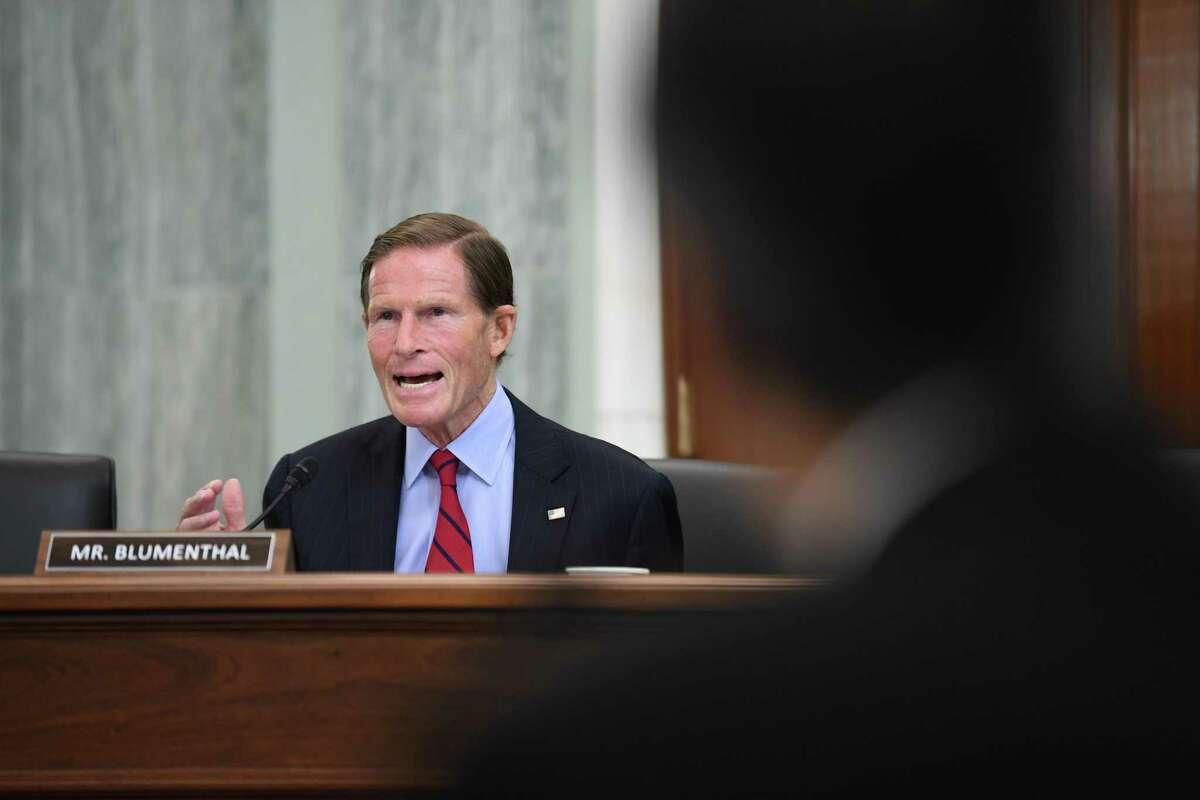 United States Sen. Richard Blumenthal, in a 2020 file photo
