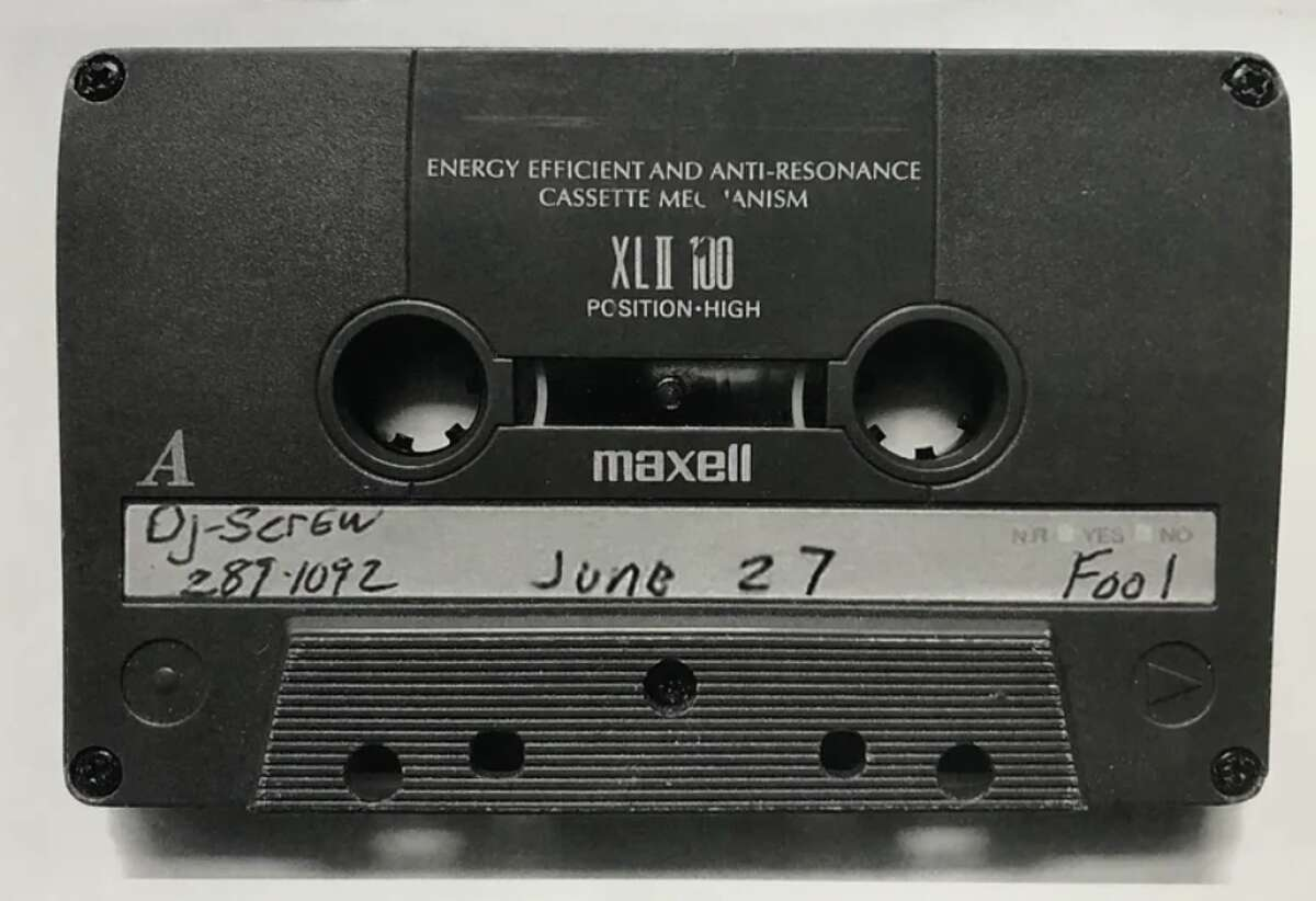 One of DJ Screw's infamous 'Screw Tapes.'