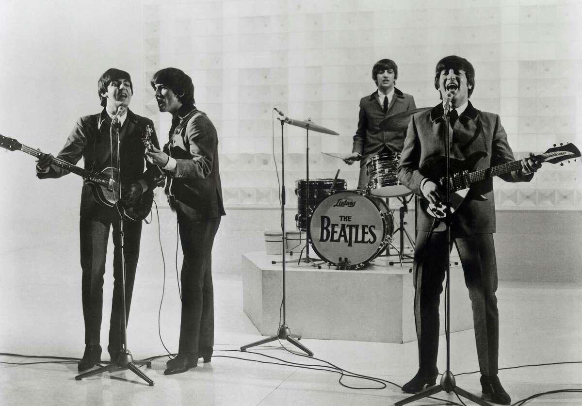 A Hard Day's Night (1964) Directed by Richard Lester Shown: Paul McCartney, George Harrison, Ringo Starr, John Lennon