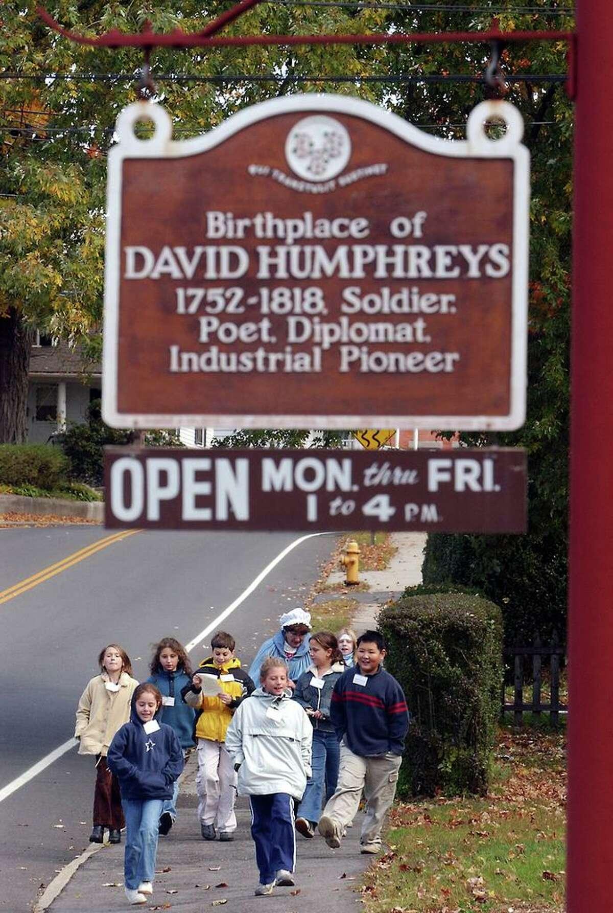 The Gen. David Humpreys House in Derby.