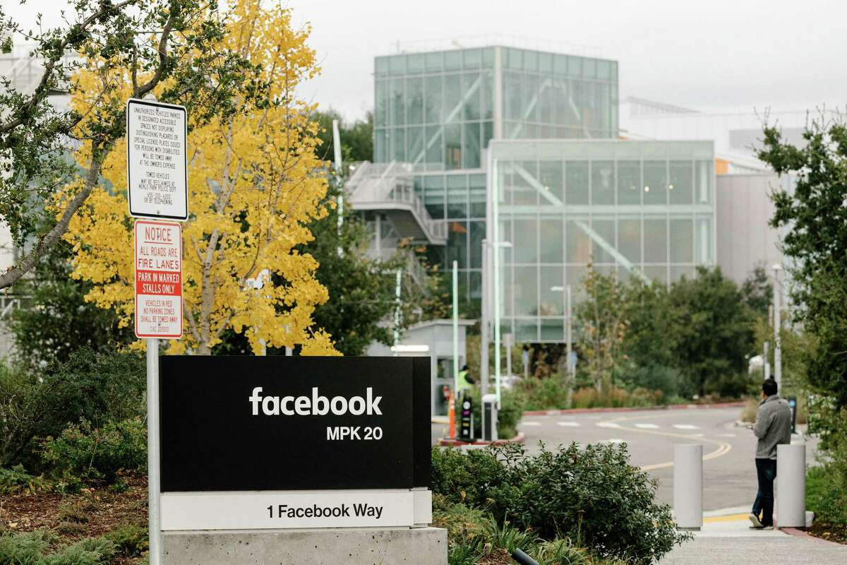 FILE -- The Facebook campus in Menlo Park, Calif., Dec. 5, 2019. An effort to pressure Facebook to crack down on hate speech has prompted dozens of advertisers to say theya€™ll stop spending on the platform. Facebook said on Friday, June 26, that a€œwe know we have more work to do,a€ in response to complaints over hate speech on the platform. (Jason Henry/The New York Times)