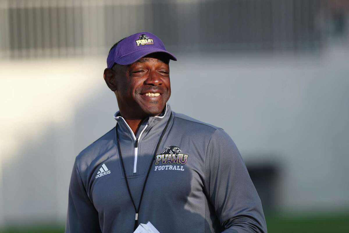 Prairie View A&M coach Eric Dooley tries to remind recruits that HBCUs have plenty to offer.