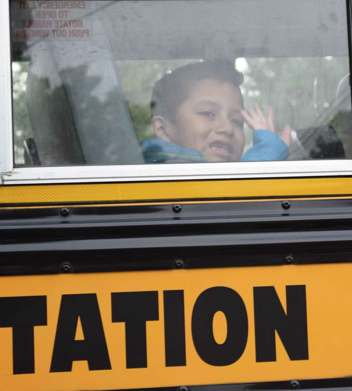 Spectrum/New Milford students headed back to school Tuesday, Aug. 27, 2019.