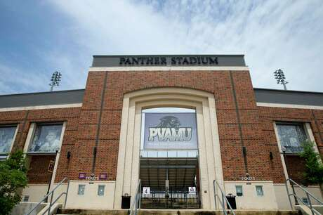 The Panther Stadium is photographed on Prairie View A&M University's campus Thursday, June 25, 2020, in Prairie View.