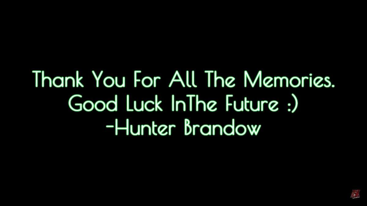A screenshot from Hunter Brandow's Youtube video covering Green Day's