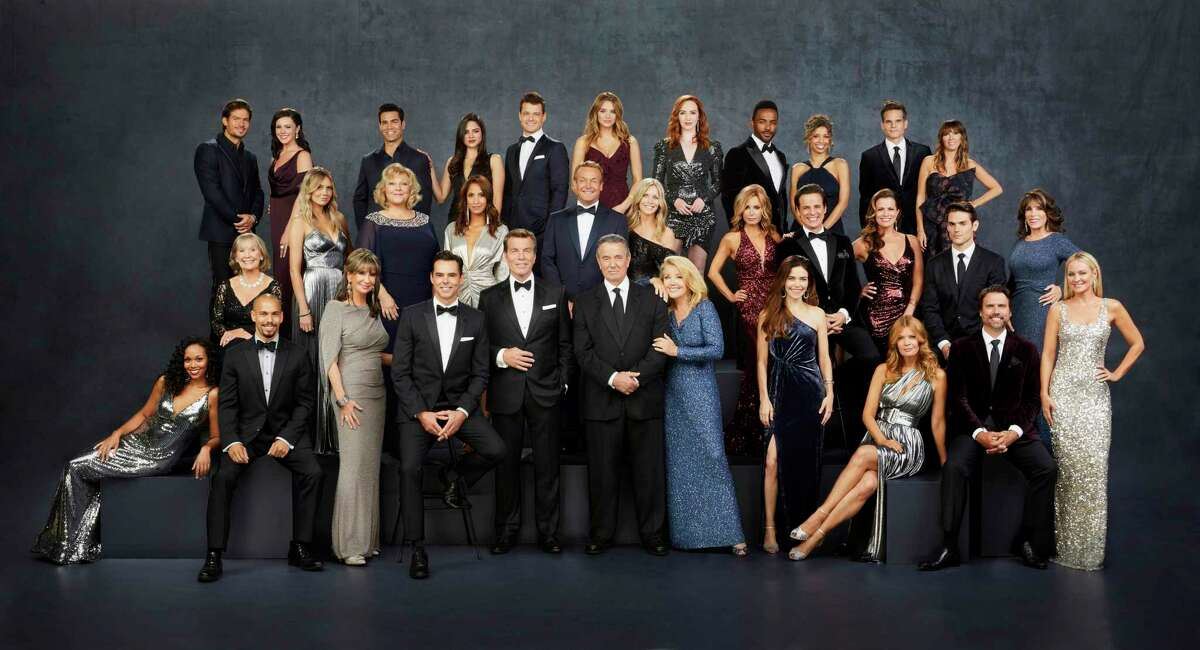 This image released by CBS shows the cast of the daytime drama series