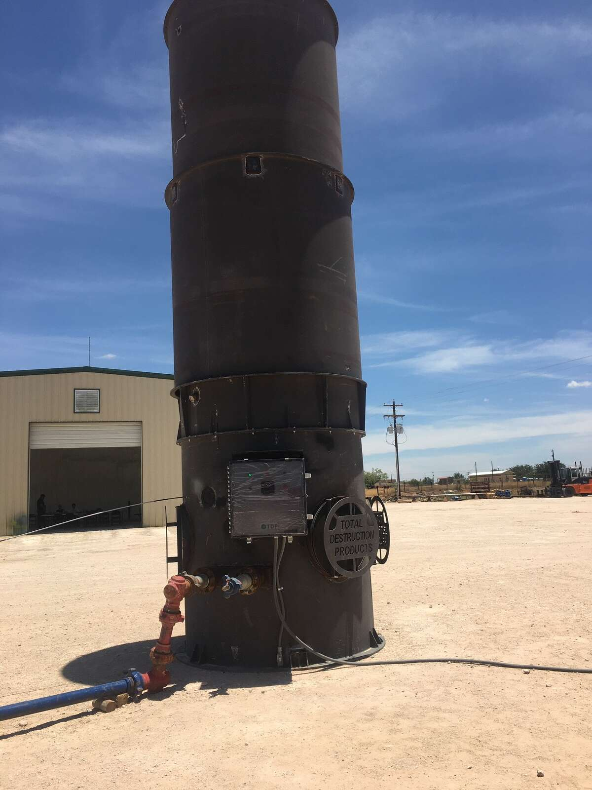 As a result of the downturn, consolidation in the oilfield services sector is expected to result in fewer, more efficient companies as the industry recovers its economic footing. Some companies, such as Texas J&A Service, are taking advantage of the lull to develop new products, like J&A's low pressure flare and the SandCat, which captures VOCs during drill out.