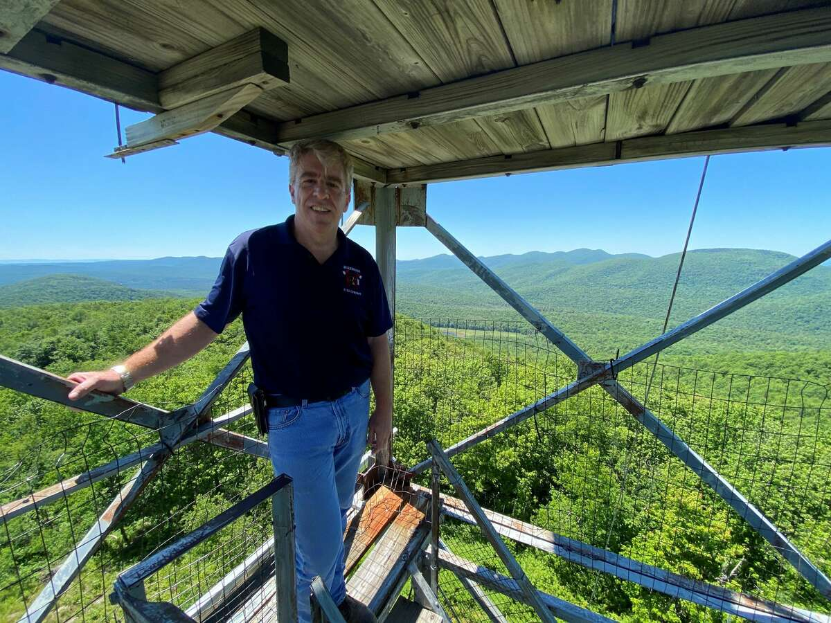 Bill Farber at Cathead Mountain
