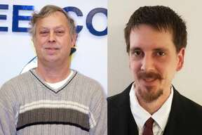 Richard Schmidt, of Kaleva, and Joshua Wheelock, of Springdale Twp., are vying for the Republican spot for the 2nd District of the Manistee County Board of Commissioners in the Aug. 4 primary. (Courtesy photos)