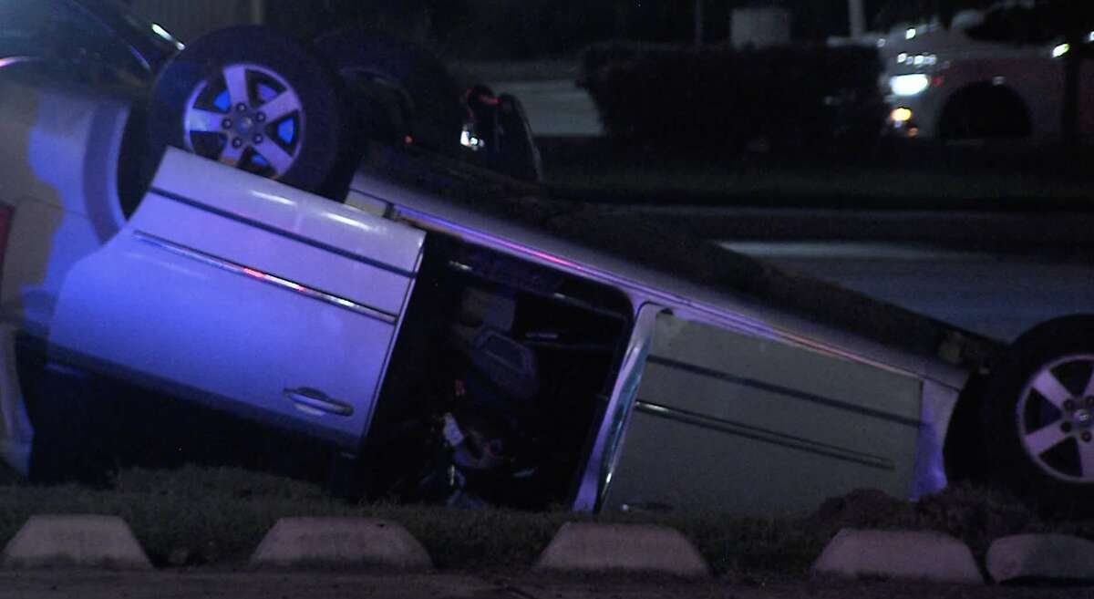 According to police, a woman is in serious condition after losing control of her vehicle on the Northwest Side early Sunday morning.